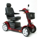 Pride Pursuit 4 Wheel Scooter - Red