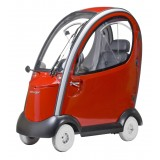 Shoprider Flagship Cabin 4 Wheel Scooter Red