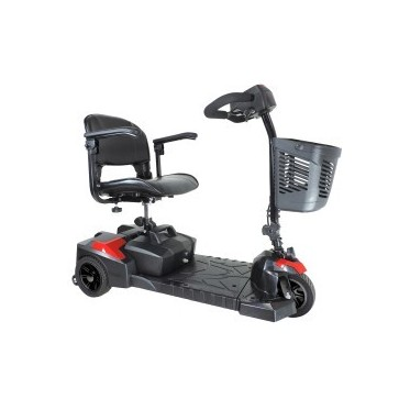 Drive Scout 3 Compact Travel 3-Wheel Scooter