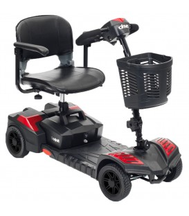Drive Scout 4 Compact Travel Power 4-Wheel Scooter