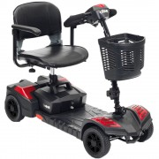 Drive Scout 4 Compact Travel Power 4-Wheel Scooter - SFSCOUT4