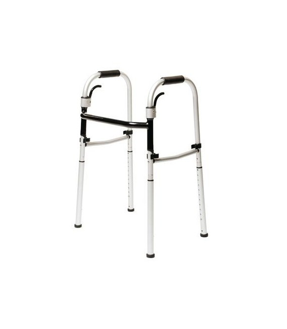 Lumex FoldAway Onyx Folding Walker