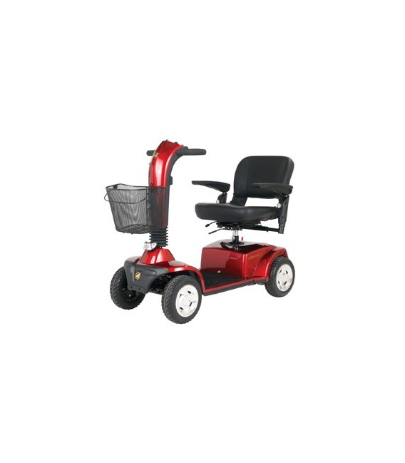 Golden Companion 350lb Capacity - 4 Wheel Scooter - Red