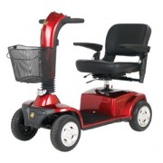 Golden GC440C Companion Full Size 4-Wheel Bariatric Scooter (Elevating Seat Option)