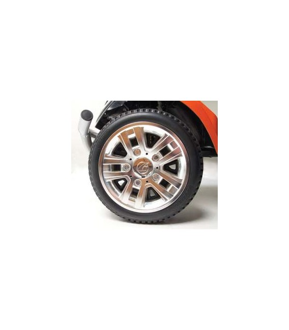 Golden Patriot 400lb Capacity  - 4 Wheel Scooter - Orange