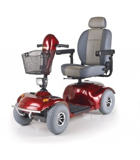 Golden Avenger 500lb Capacity  - 4 Wheel Scooter - Red