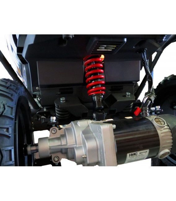"Heartway Vita Monster 4 Wheel 20"" Seat Scooter - Black"