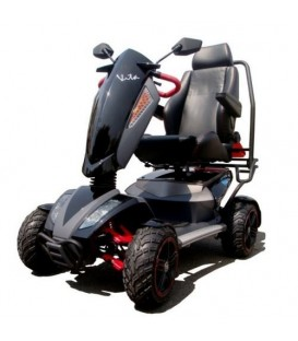 "Heartway Vita Monster 4 Wheel 20"" Seat Scooter - Black"