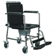 Lumex Versamode Transport Drop Arm Commode Chair 6810A by Graham Field