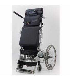 "Karman 18"" Manual Push-Power Assist Stand Wheelchair"