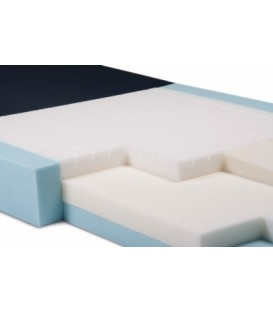 Simmons Clinical Care S600 Mattress 42in x 84in with Firm Side Bolsters