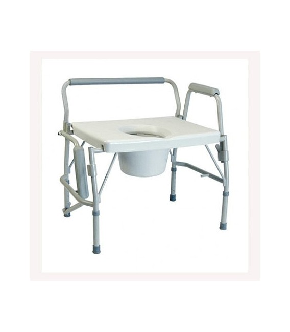 Lumex 6438a Imperial 3 In 1 Steel Drop Arm Commode
