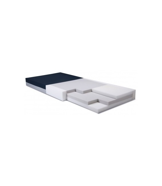 Simmons Clinical Care S400 Series Foam Mattress w/Side Bolsters 35inx76in