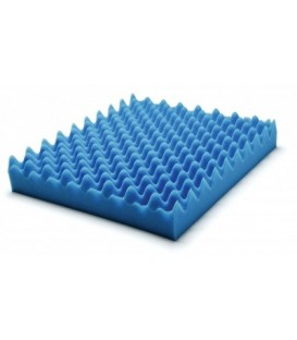 "Wheelchair Pad Convoluted Foam Cushion Size: 18"" x 16"" x 2"""