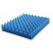 "Wheelchair Pad Convoluted Foam Cushion Size: 18"" x 16"" x 3"""