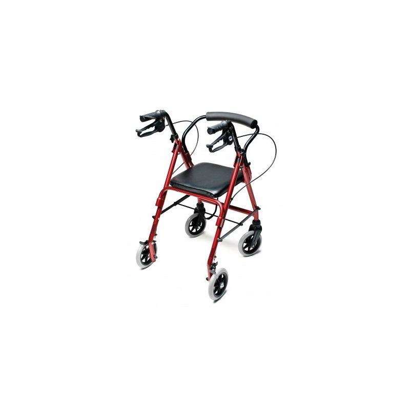 Lumex Walkabout Lite Junior Rollator Burgundy Rj4301r