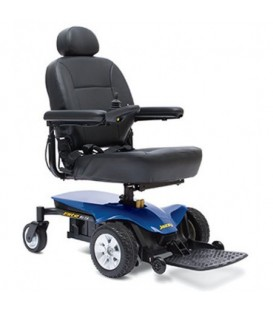 Pride Jazzy Elite ES Portable Powerchair - Red