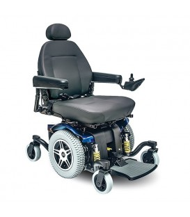 Pride Jazzy 614 HD Powerchair - Red