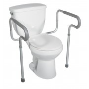 Drive Toilet Safety Frame with Padded Arms