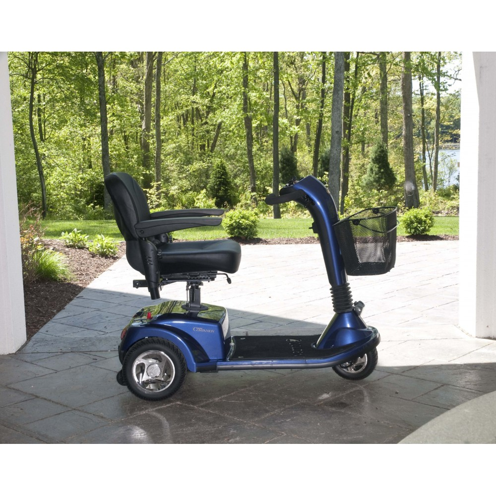Golden Gc 240 Companion 3 Wheel Scooter Elevating Seat