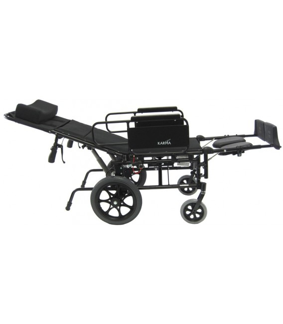 Karman KM-5000TP Ultralight Aluminum Reclining Wheelchair