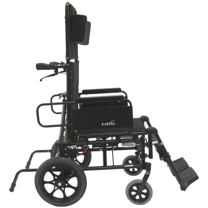 Karman Km 5000tp Ultralight Aluminum Reclining Wheelchair
