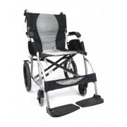 Karman Ergo Lite S-2501-F-TP Ultralight Transport Wheelchair 18 lbs