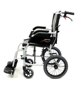 Karman ERGO FLIGHT-TP 18 lbs Ultralightweight Transport Hill Brake Wheelchair