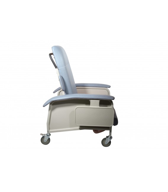Lumex FR577RGH Clinical Care Geri Chair Recliner with Heat & Massage by Graham Field
