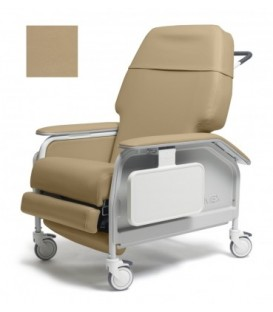 Lumex FR587WH XW-Bariatric Geri Chair Recliner Heat & Massage by Graham Field