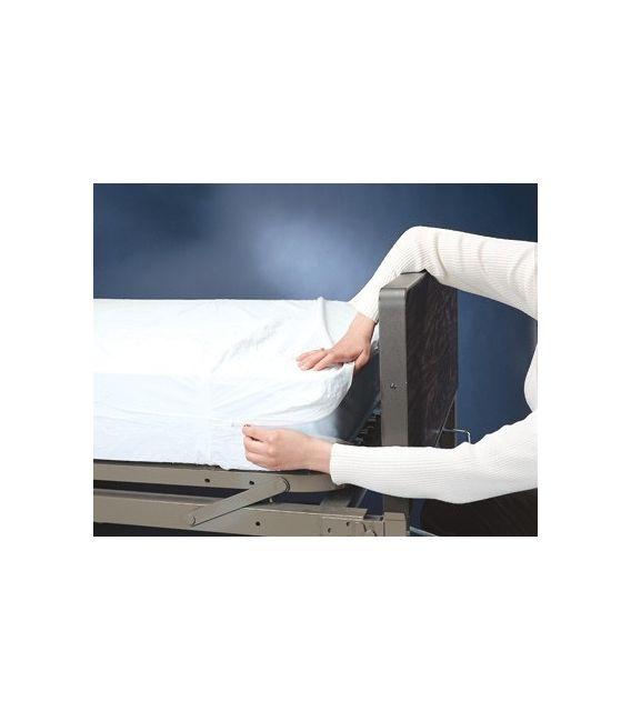 Zippered Cover encloses Bunk, RV, Sofa Bed Mattress
