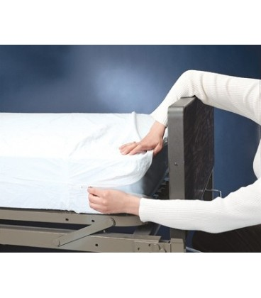 Zippered Mattress Cover or Contoured Mattress Cover for Bunk RV Sofa Bed