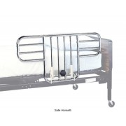 Lumex Universal Half Bed Rails in Chrome GF6650A-1 by Graham Field
