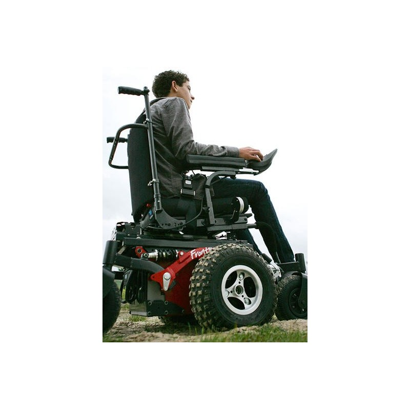 Innovation in motion v6 frontier all terrain power wheelchair for All terrain motorized wheelchairs