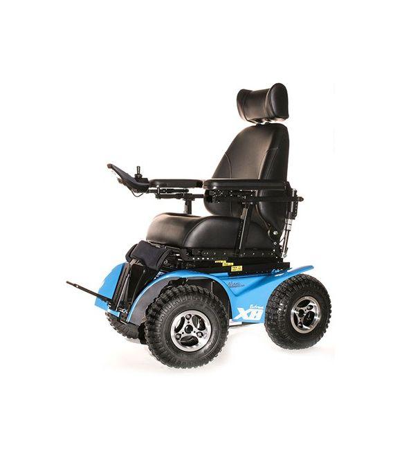 Extreme x8 all terrain power chair for All terrain motorized wheelchairs