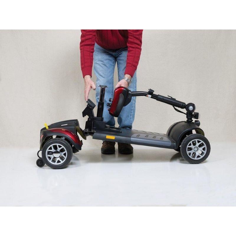 Golden Technologies Buzzaround Xl 3 Wheel Scooter Gb117d