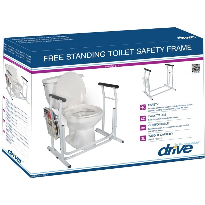 Stand Alone Toilet Safety Rail American Quality Health