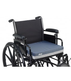 "Drive Gel ""E"" 3"" Wheelchair Seat Cushion - 16"" x16"" x 3"""