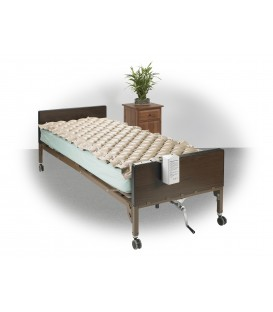 "Med Aire Low Air Alternating Pressure Pump & Pad Mattress System-123""x36""x2.5"""