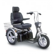Afiscooter SE 3-Wheel Bariatric Scooter (500 lbs) by Afikim