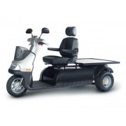 Afiscooter M 3-Wheel Bariatric Scooter (661 lbs) by Afikim - Afis-M