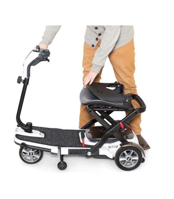 Pride Go-Go Folding 4 Wheel Scooter