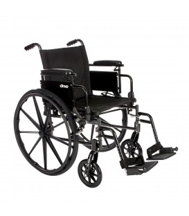 Drive Cruiser X4 Wheelchair Lightweight, Dual-Axle Wheelchair