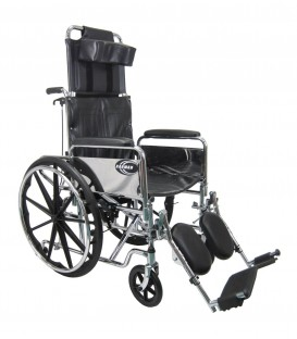 Karman KN-880 Heavy Duty Reclining Wheelchair