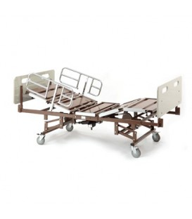 "Invacare Bariatric Bed Pkg. w/ Half Rails  & 39"" Mattress - 750 Lb Capacity model BARPKG750-1633"