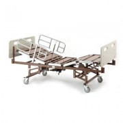 """Full Electric Bariatric Hospital Bed with 42"""" Mattress 750lb - Invacare - BARPKG750-1-1633"""