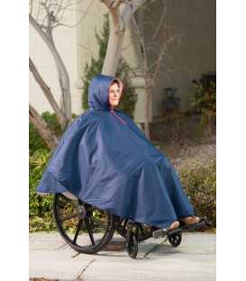CareActive Wheelchair Rain Poncho
