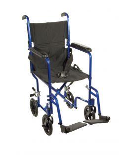 """Drive Lightweight 19"""" Transport Wheelchair ATC19"""