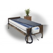 "Med-Aire Plus 8"" Altern Press & Low Air Loss Mattress Syst & Perimeter by Drive"