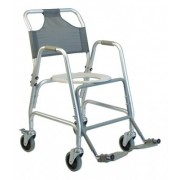 Lumex Deluxe Shower Transport Chair with Footrests 7915A-1 by Graham Field